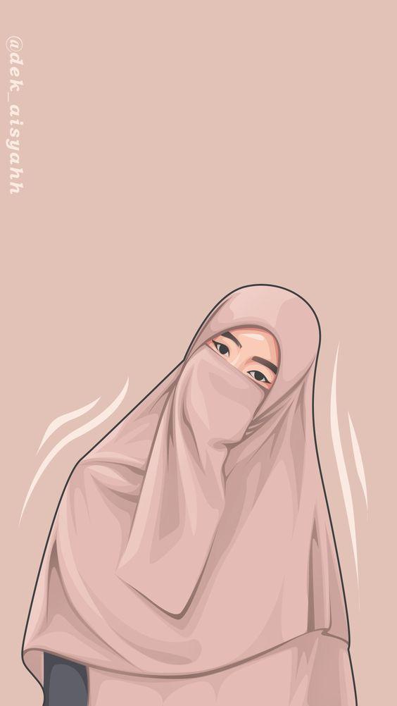 Kumpulan Gambar Kartun Muslimah 10
