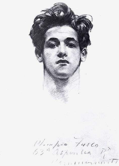 Olimpio Fusco - John Singer Sargent  ...alguien q sí dibujaba