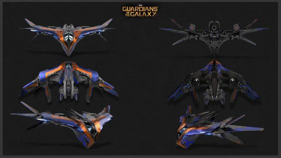 Milano aus Guardians of the Galaxy, 1:144 von Fantasic Plastic 92c21d8723fe31bf2d75af4e25e55ef4