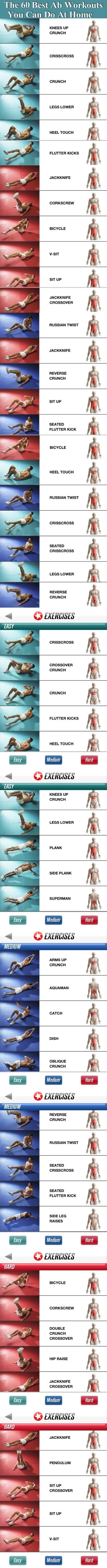 The 60 Best Ab Workouts You Can Do From Home Pictures, Photos, and Images for Facebook, Tumblr, Pinterest, and Twitter:
