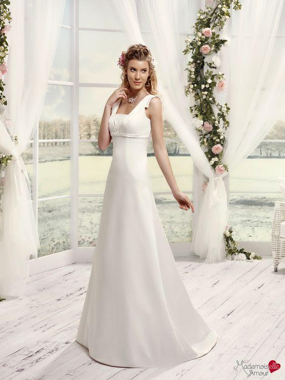 Mlle Mohaire, collection de robes de mariée - Mademoiselle Amour