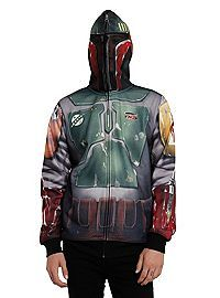 HOTTOPIC.COM - Star Wars Boba Fett Full-Zip Hoodie