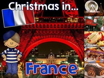 French Christmas Crafts Activities