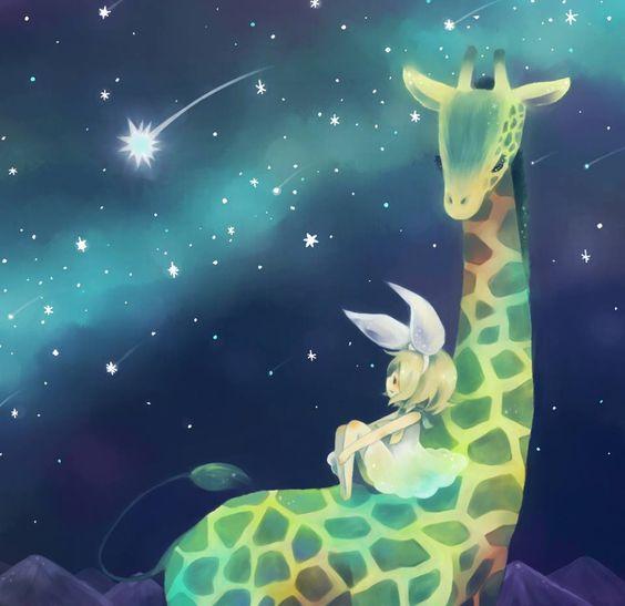 Kagamine Rin giraffe