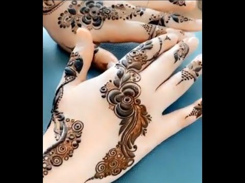جمال وروعه نقش الحناء للعروس Youtube Hand Henna Henna Hand Tattoo Henna