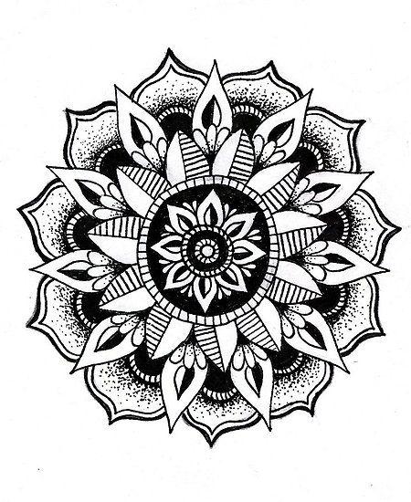 flower   Coloring book   Pinterest   Mandalas, Flower and Flower ...