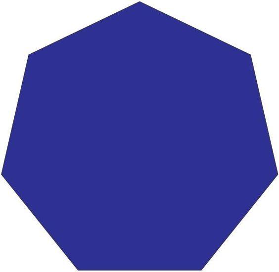 Heptagon Seven-sided heptagon. ...