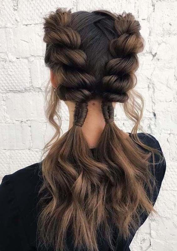 40 Best Big Box Braids Hairstyles In 2020 With Images Cool Braid Hairstyles Braided Hairstyles Easy Braids