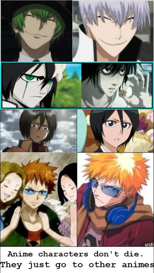 Anime Characters Everyone Knows : Bleach is the hub