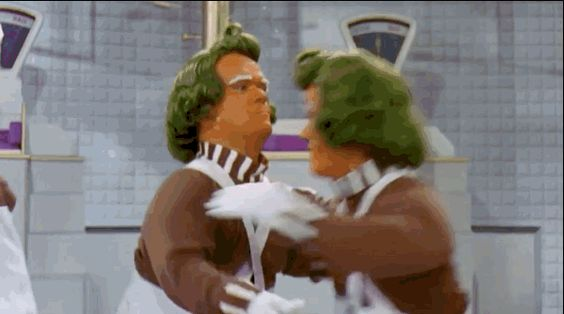 """Obviously, the Oompa Loompas being played by different men is key. 