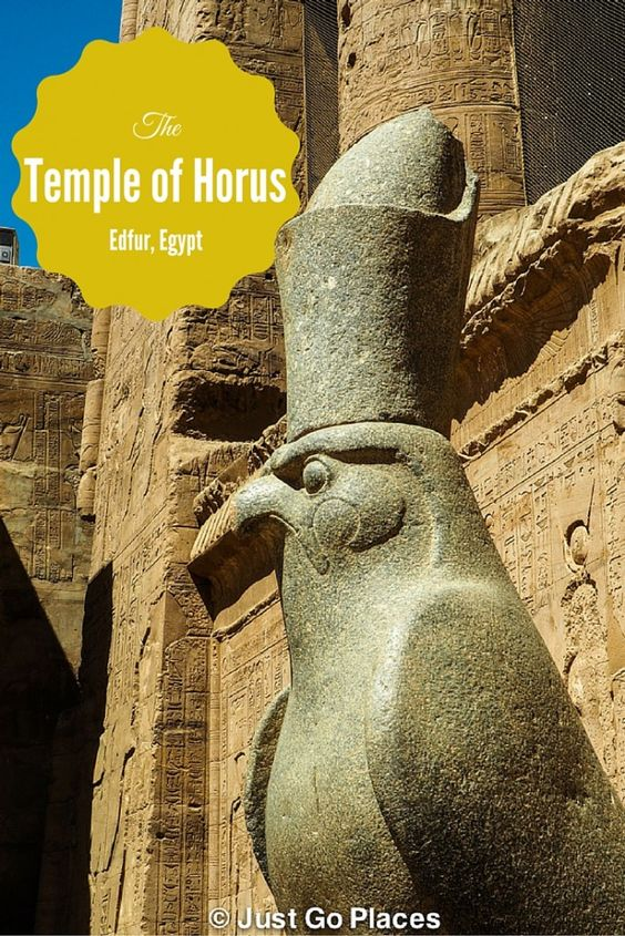 Visiting the Temple of Horus at Edfu as a shore trip off the Oberoi Philae a luxury Nile cruiser.