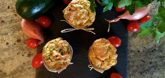 Leckere Gemüse-Muffins - Rezept für herzhafte Muffins