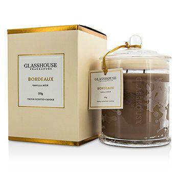 Glasshouse Ароматическая Свеча - Bordeaux (Vanilla Noir) 350g