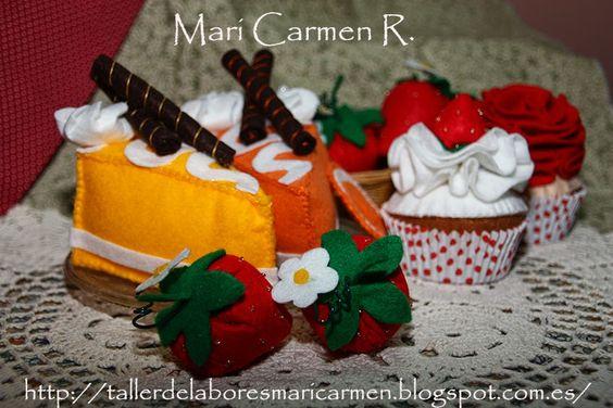 El blog de Mari Carmen (Patchwork, tildas y más labores): Dulce fieltro