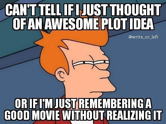 Awesome Plot Idea - Writers Write