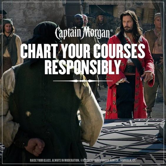 Chart your courses responsibly.