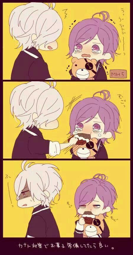 Anime diabolik lovers subaru and canato chibi *^*