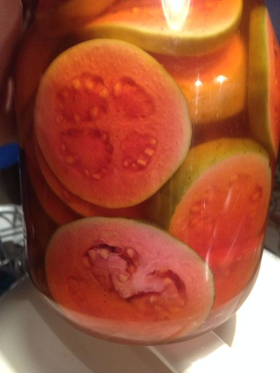Pickled Guava