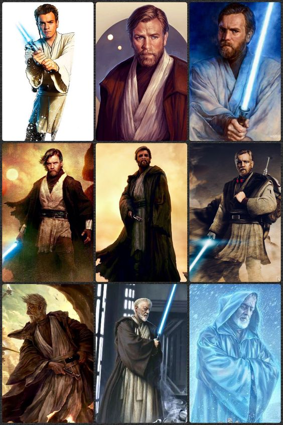 Oni-Wan Through The Years
