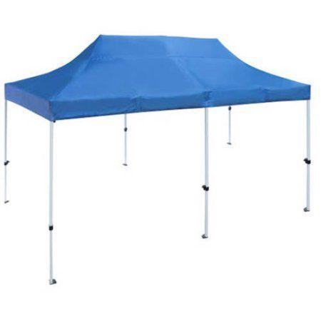 Aleko GZF10X20WH Gazebo Tent 420D Oxford Canopy Party Tent, Blue