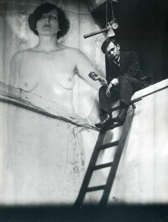 Tristan Tzara by Man Ray (1896 - 1963)