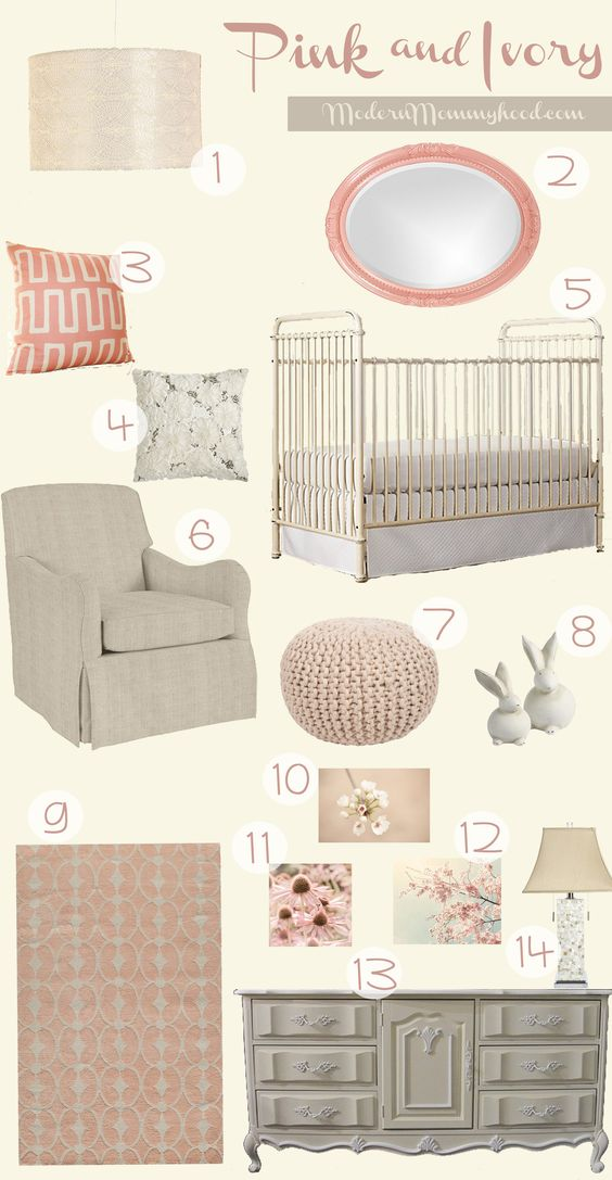 pink and ivory nursery design non toxic baby safe lullaby paints in. Black Bedroom Furniture Sets. Home Design Ideas