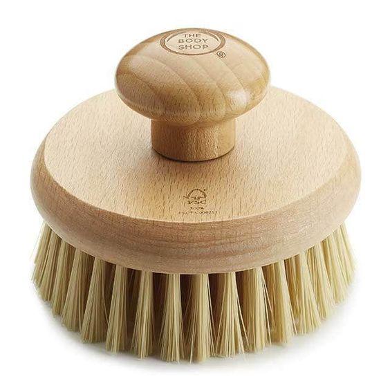 Round Body Brush Body Brushing The Body Shop Lip Scrub Homemade