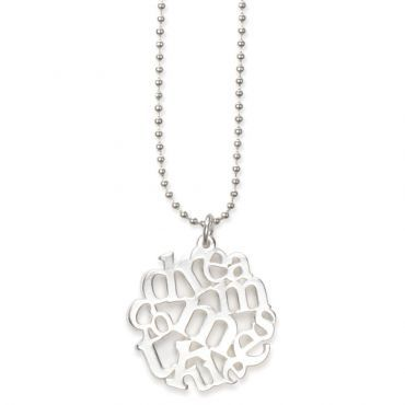 Dreams Come True Necklace in Silver  is handmade from fine pewter and is plated in sterling silver  20.00 CAD