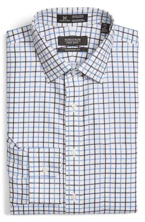 Nordstrom Men's Shop Smartcare™ Slim Fit Check Dress Shirt