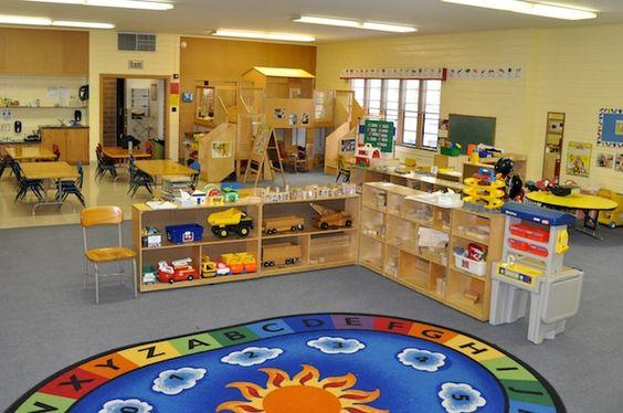 Bigger Block Truck Area Preschool Classroom At
