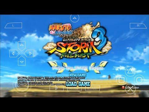 Naruto Ultimate Ninja Storm 3 Mod Iso V2 Psp Android Download Naruto Games Ultimate Naruto Naruto
