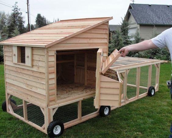 Small Backyard Garden Ideas Chickencoopblueprints Chicken Coop Pallets Chicken Coop On Wheels Mobile Chicken Coop