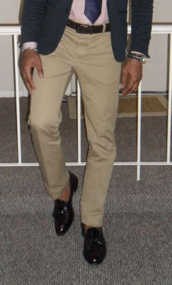 khaki shoes with khaki pants - Pi Pants