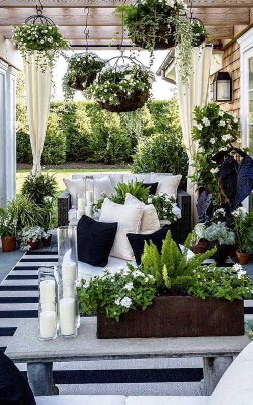 Como Adornar Una Terraza Con Plantas Jardín Decoración