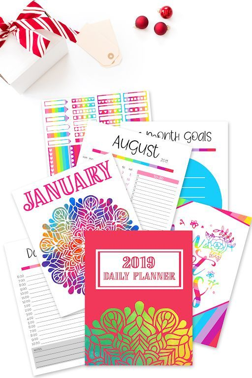 Grab This Free 2019 Daily Planner Here Organize Your Life And