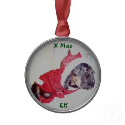 $19.95 BEST CHRISTMAS TREE ORNAMENTS - MINI DACHSHUND ELF - HEIDI PUP EVERYONE'S FAVORITE DASSY