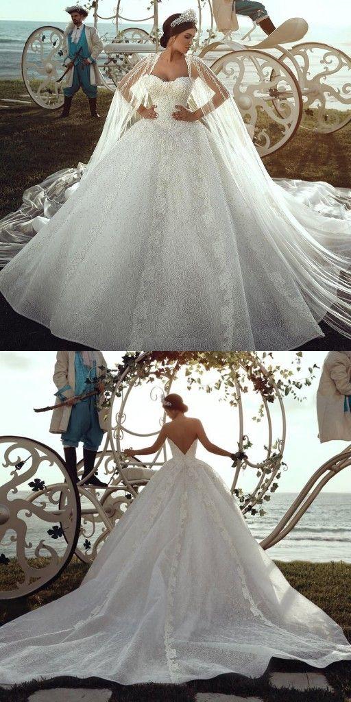 2020 Luxury Hochzeitskleider Spitze A Linie Brautkleider Gunstig Online Brautkleid Gunstig Hochzeitskleid Kleid Hochzeit