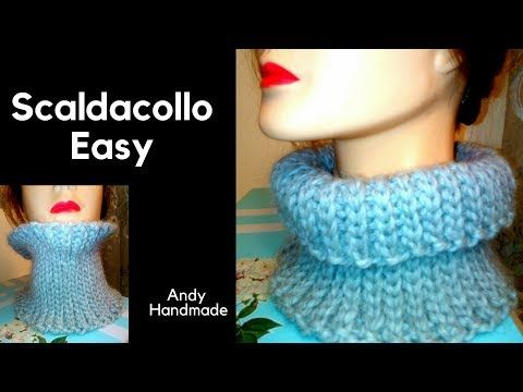nuovi stili 45fce 89f25 TUTORIAL: scaldacollo easy - uncinetto facile - YouTube ...