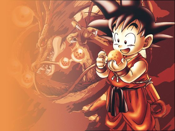 Son goku dragon and dragon ball on pinterest for Chambre dragon ball z