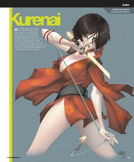 Girls of gaming. Kurenai. Red Ninja; End of honor