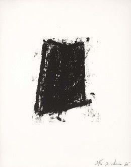 Sketch #5, 1981, by Richard Serra
