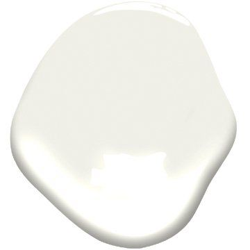 Benjamin Moore Simply White OC-117 has two things going for it that work together to create a bright and sunny feeling: a very high light value and a slightly warm tint. It makes a room feel like sunshine pouring in.""