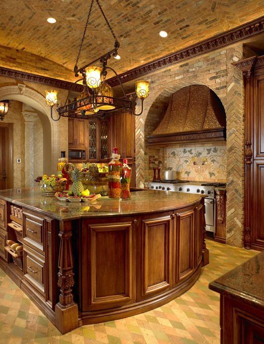 tuscan kitchen island beautiful kitchen ceilings and islands on 2980