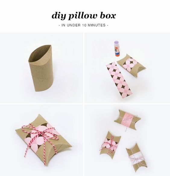 Maiko NagaoDIY Valentines Day Pillow Box by Practically