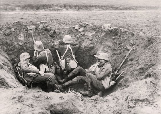 More world war i warfare troops both sides world war trench germany my