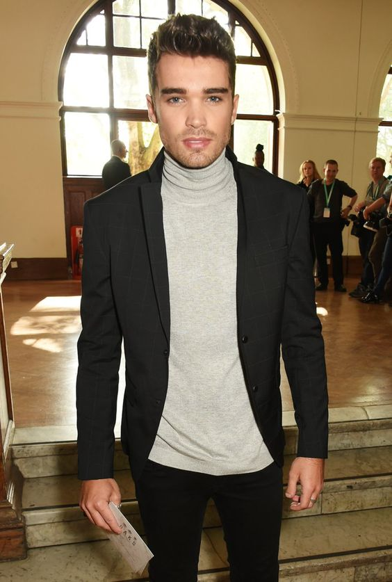 Pin for Later: Celebrities Were Sitting Pretty in the London Fashion Week Front Row Josh Cuthbert Union J's Josh Cuthbert attended the Daks show.