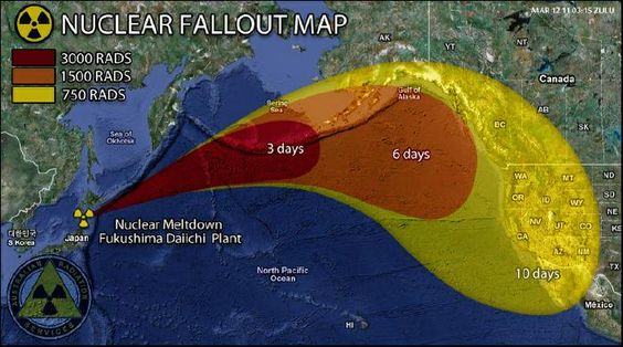 snopes.com: Nuclear Fallout Map