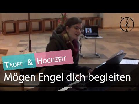Tauflied Mögen Engel Dich Begleiten Klaviernoten Playback