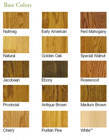 Hardwood floor color options jacobean antique brown for Hardwood floor color options