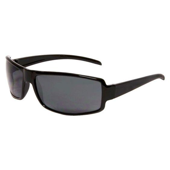 Rectangle Sunglasses Plastic - Black